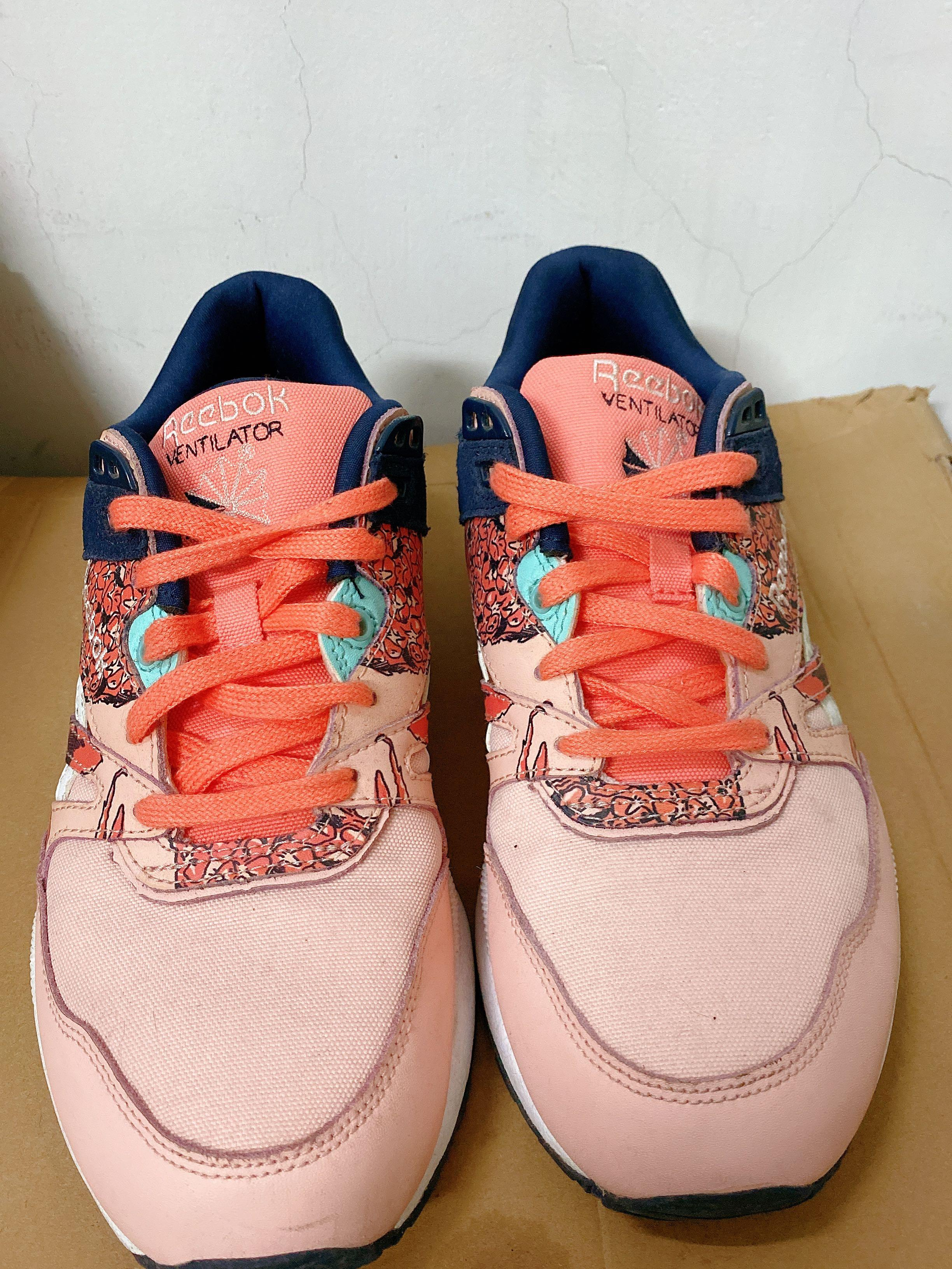 REEBOK-VENTILATOR 女慢跑鞋 紅橘粉(含運)