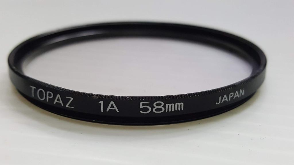 topaz 1a 58mm 保護鏡片