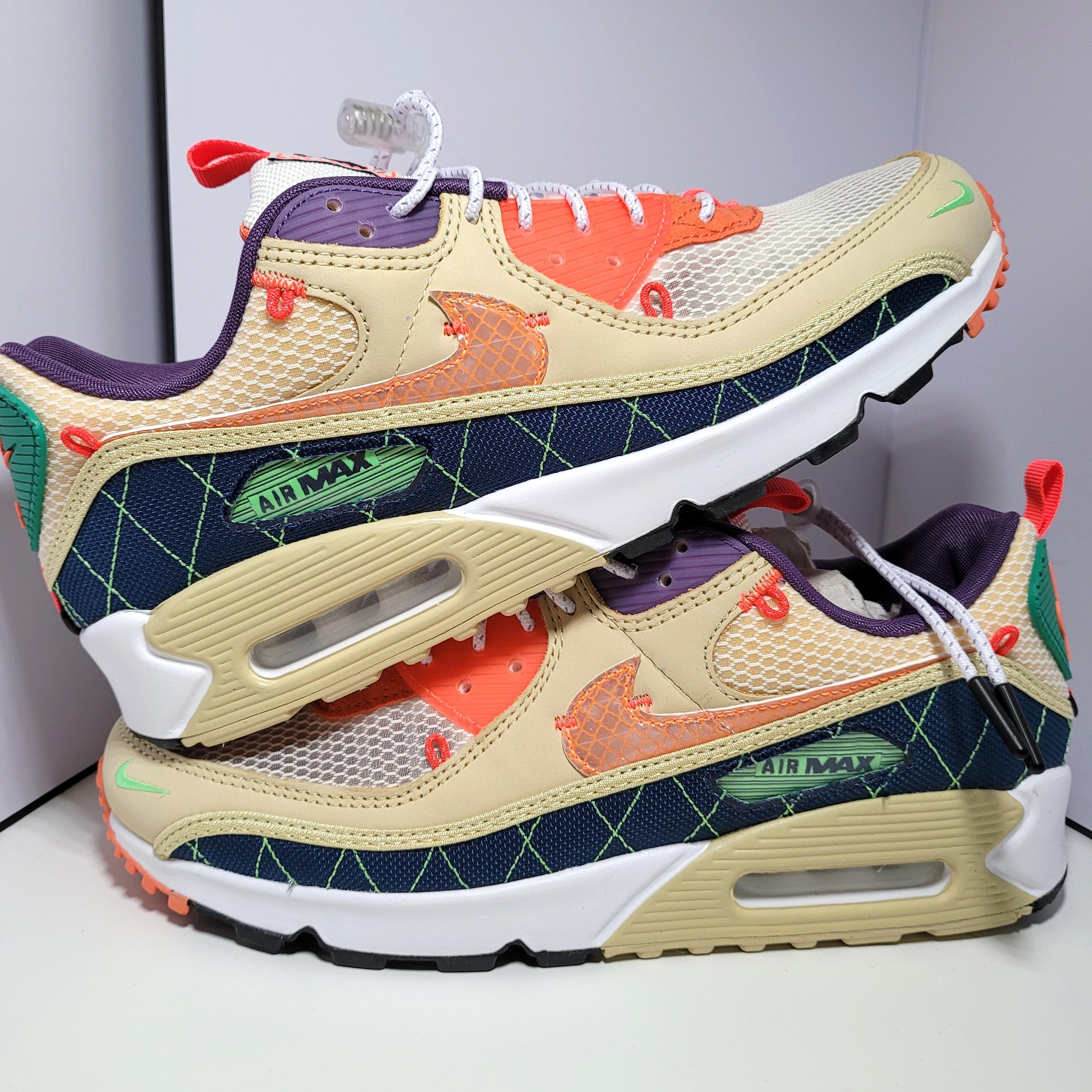US 9.5) Nike Air Max 90 Trail Vibes, Men's Fashion, Footwear ...