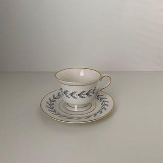 Vintage french cup saucer