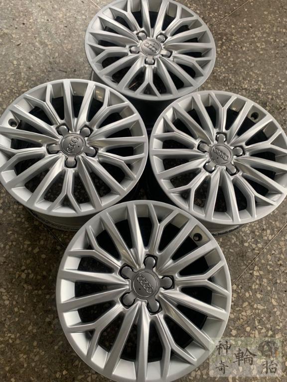 16吋鋁圈 奧迪 Audi A3 拆車正原廠鋁圈 5/112 7J ET48 真圓無變形 CB57.1