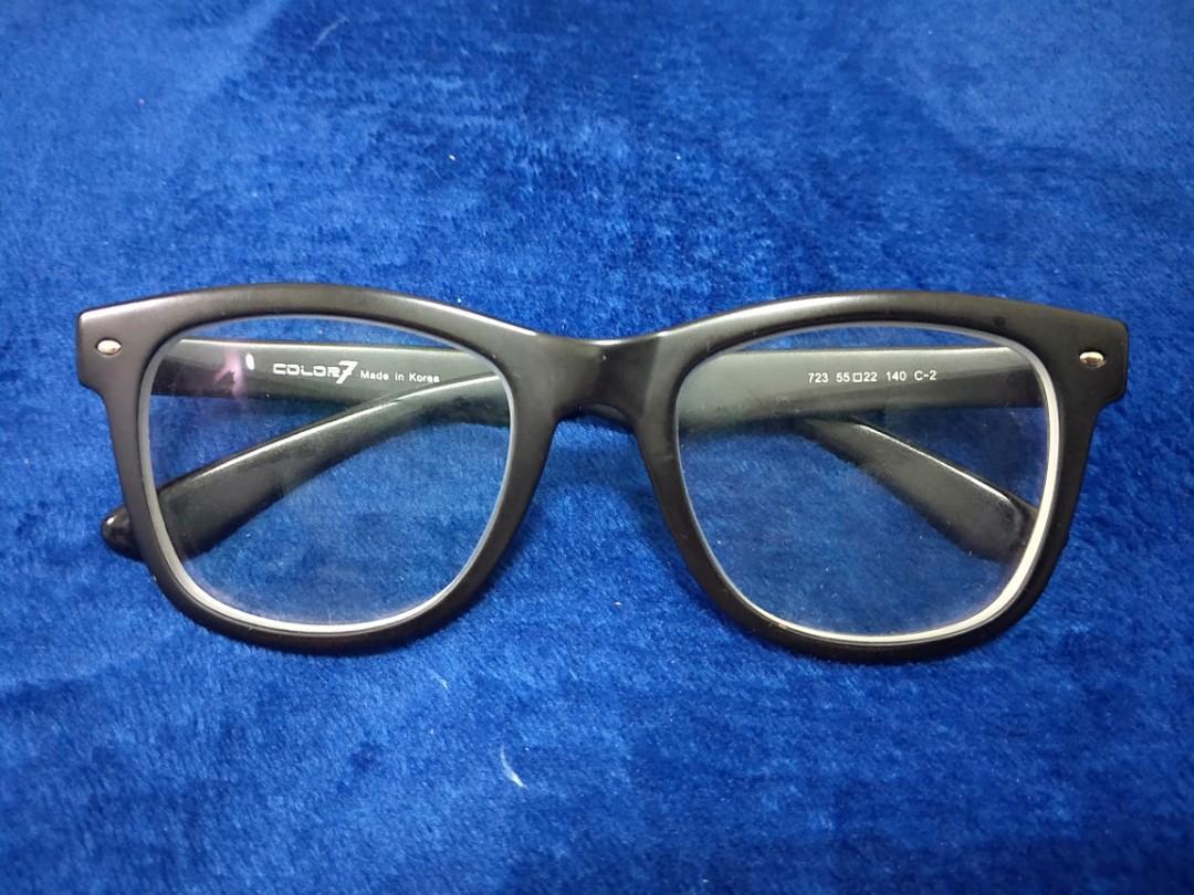 誠可議價-黑色膠框眼鏡
