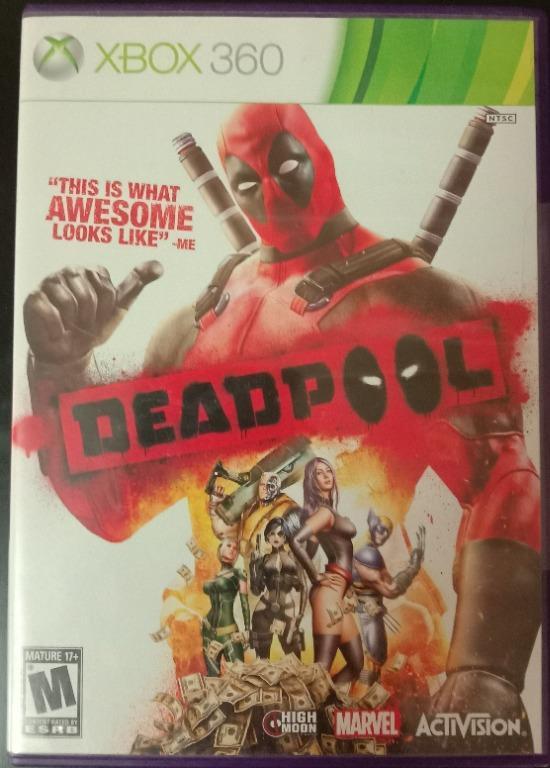 死侍 XBOX 360 Deadpool one