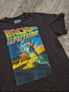 BACK TO THE FUTURE t-shirt in Black licensed by Universal Studio.
