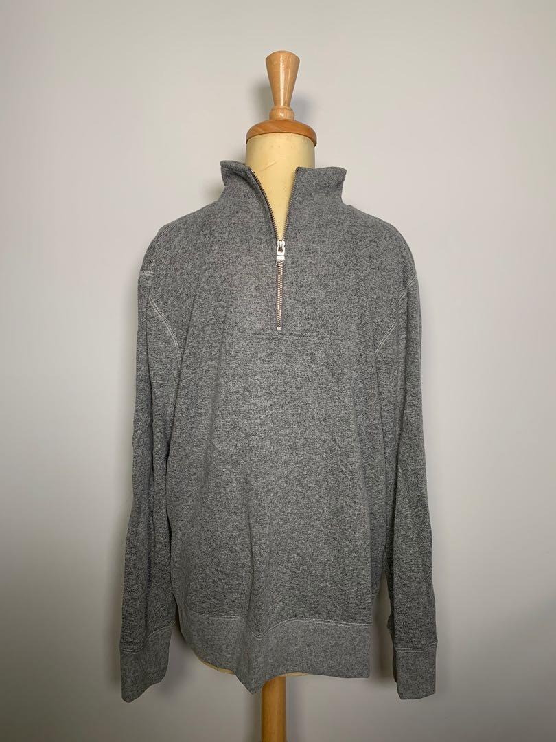 Banana Republic men's 3/4 zip sweater - size Lrg
