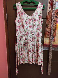 Dress Korea Bunga   Floral Dress Flower