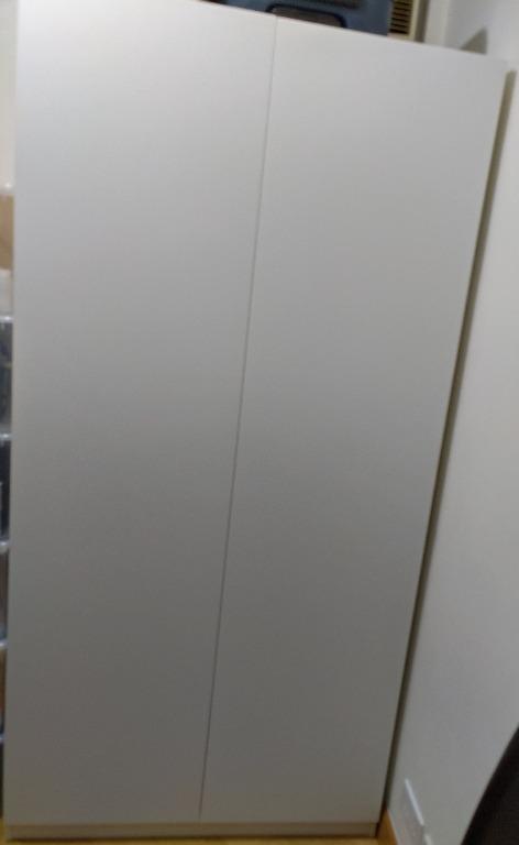 Ikea PAX Wardrobe with Tanem doors  (W*D*H 100*60*201 cm)