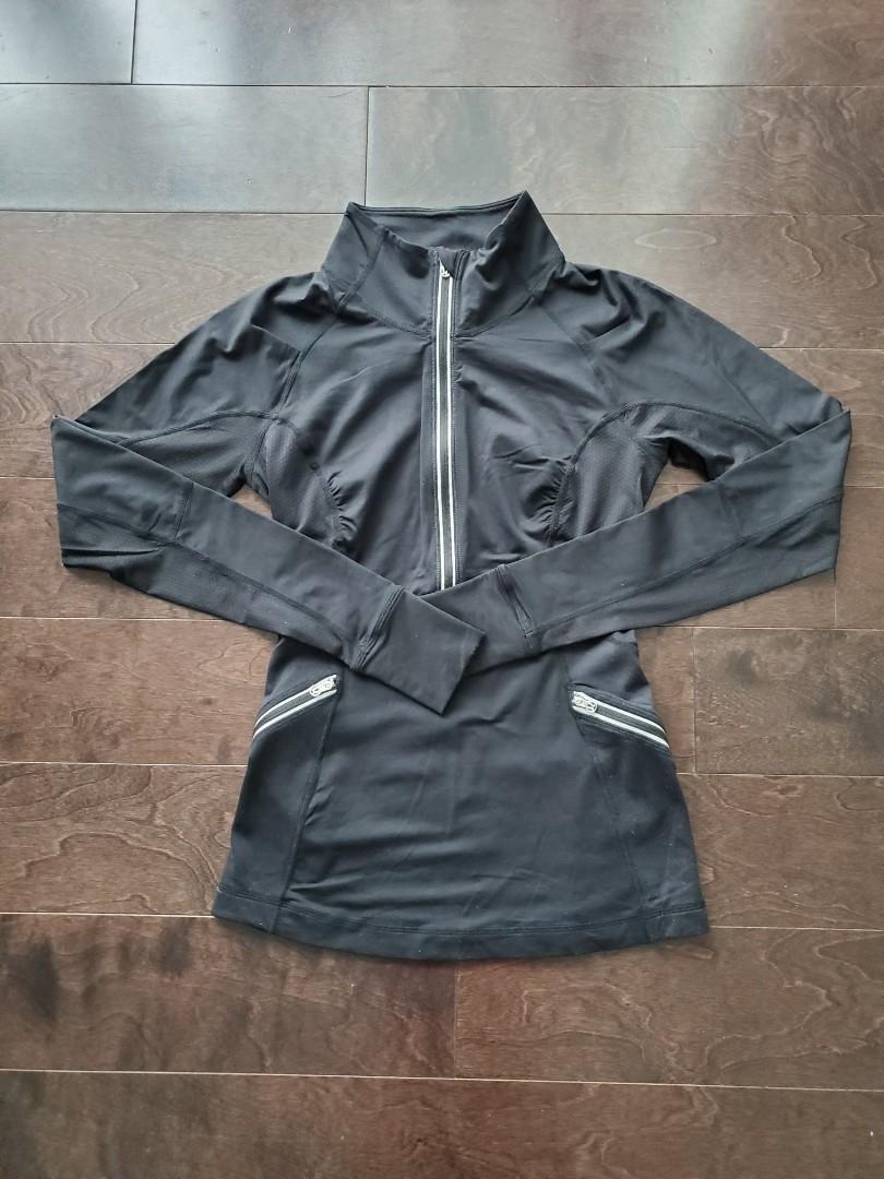 Lululemon Black Running Sweater - Size 4
