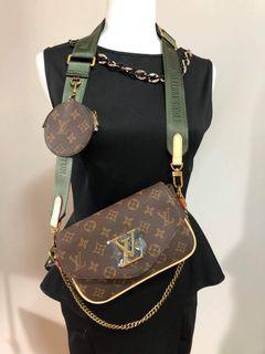 LV inspired shoulder or crossbody bag reflect the original only