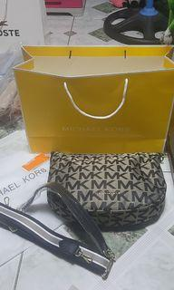 Mk with paper bag