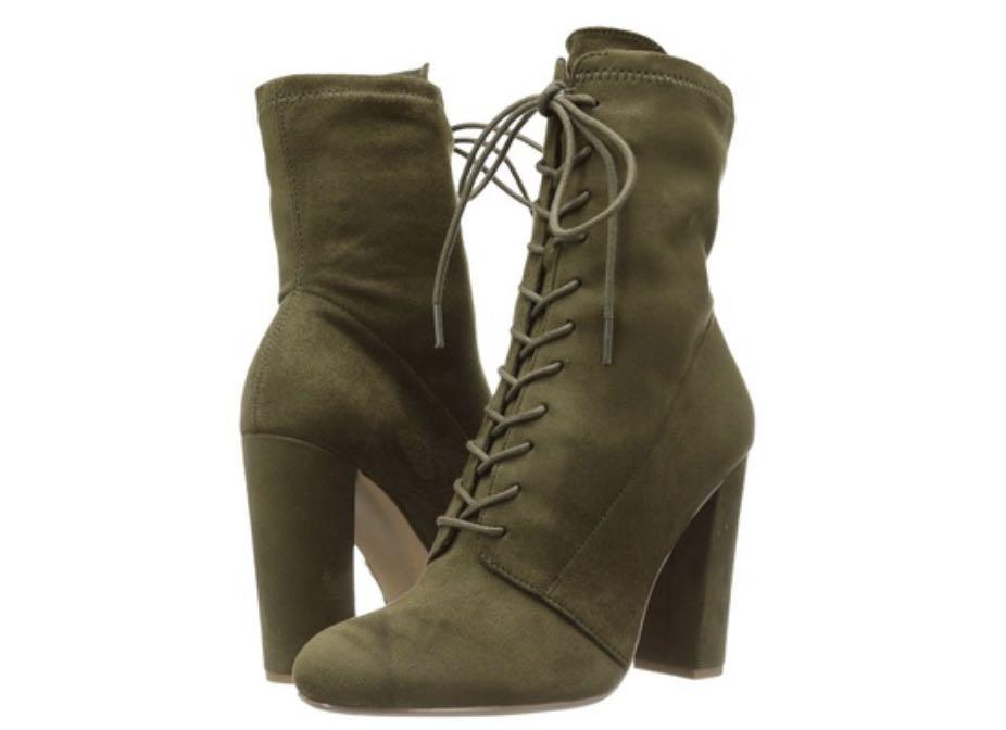 Steve Madden Army Green Boots