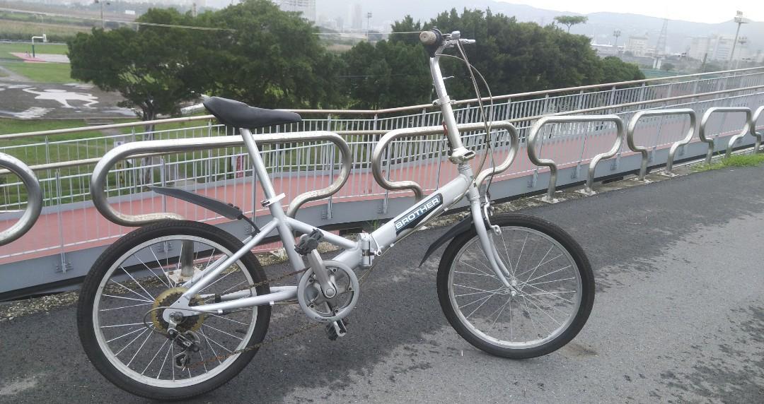 20吋 6速 鋁合金 摺疊 腳踏車