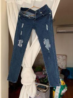 2% Tokyo 個性牛仔褲 S號 原價近2000