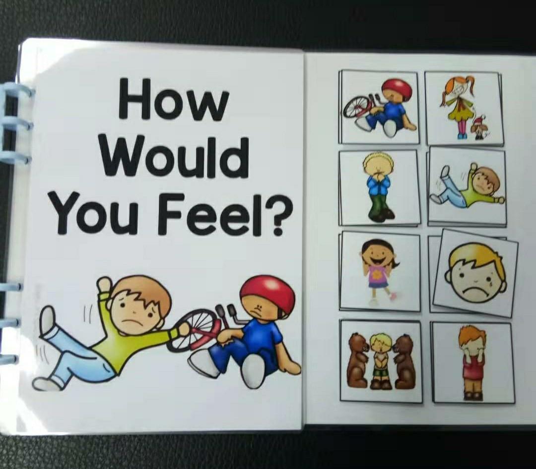 """""""你的感受"""" 教具"""