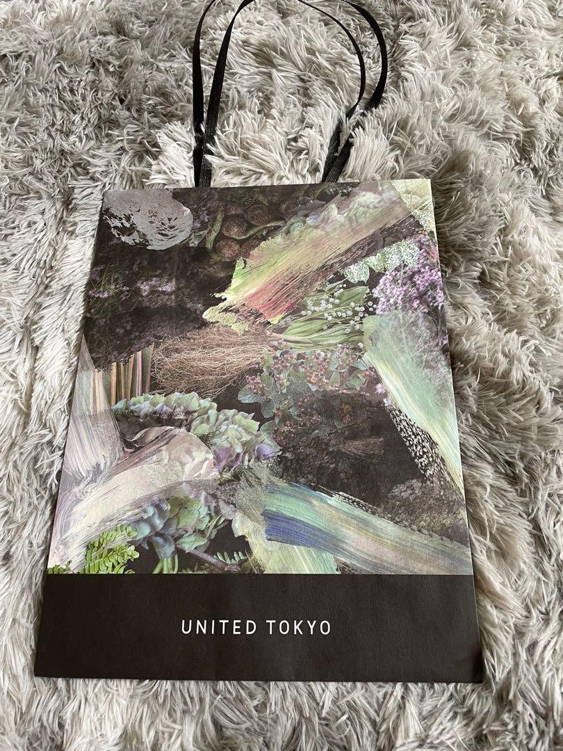 日本 United Tokyo 印花紙袋