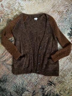 Aritzia WILFRED Alpaca Wool Two-Tone Cardigan💫