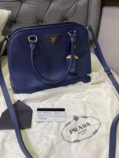 Authentic Prada saffiano sling bag