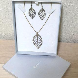 Chomel Gold Leaves Set