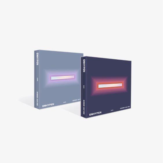 (空專)ENHYPEN - 第一張迷你專輯「BORDER : DAY ONE」(韓國進口版)