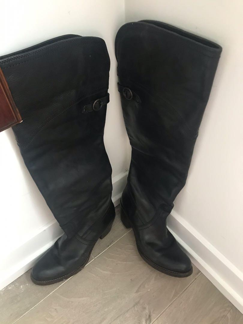 FRYE over the knee boots, size 6