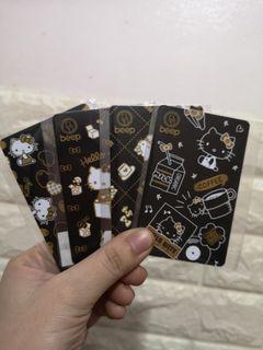 Hello Kitty Beep Card Set