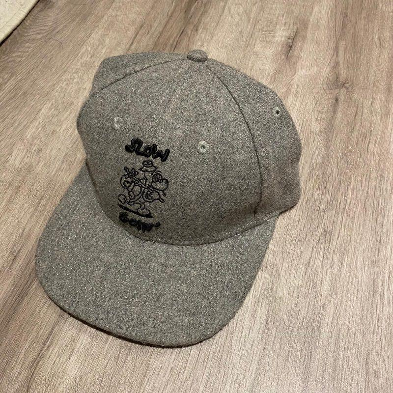 英國🇬🇧Lazy OAF 灰色羊毛棒球帽 男女可用
