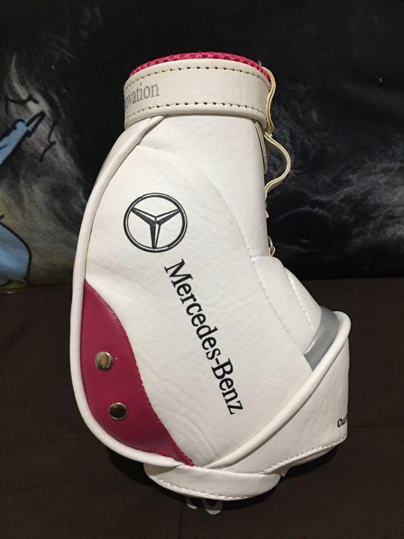 M-Benz揮桿行善 高爾夫球賽⛳️特製限量 小球袋造型筆筒 收納筒