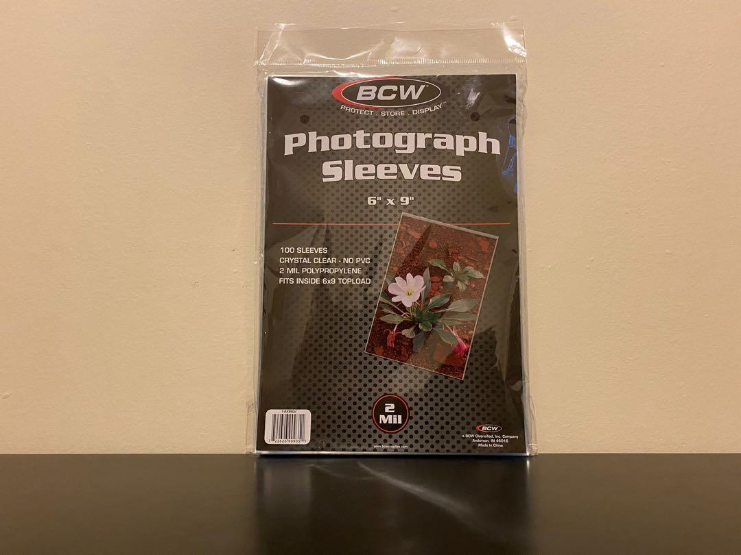 (NEW!) BCW 6x9 Photography Sleeves! (PICK UP ONLY!)