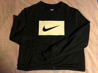 Nike經典款縮腰綁帶大學上衣