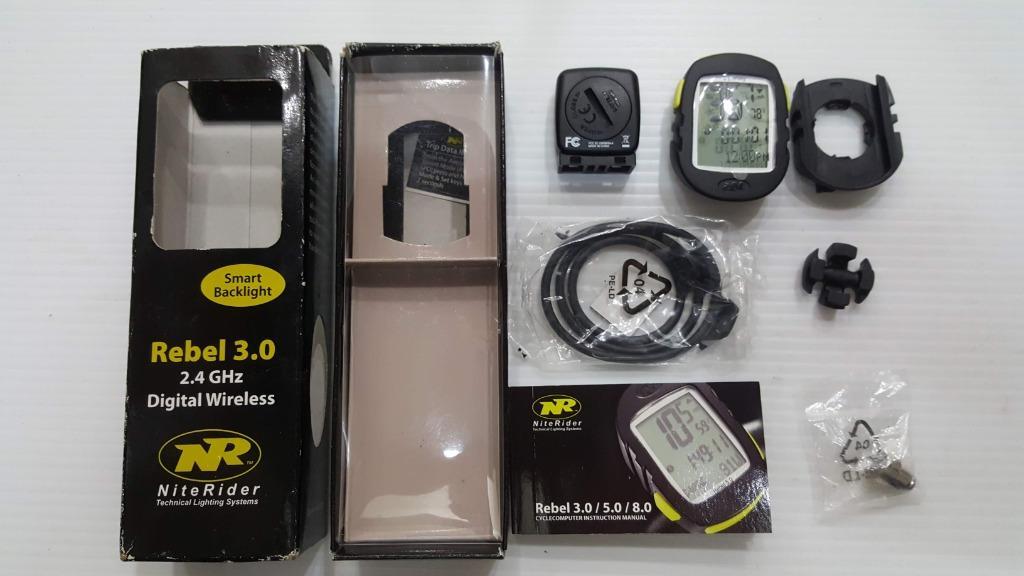 NITERIDER REBEL 3.0 數位自行車車速表