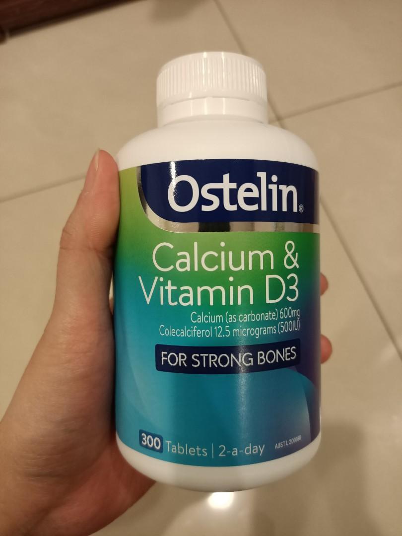 Ostelin Calcium & Vitamin D3 成人 維生素D+鈣