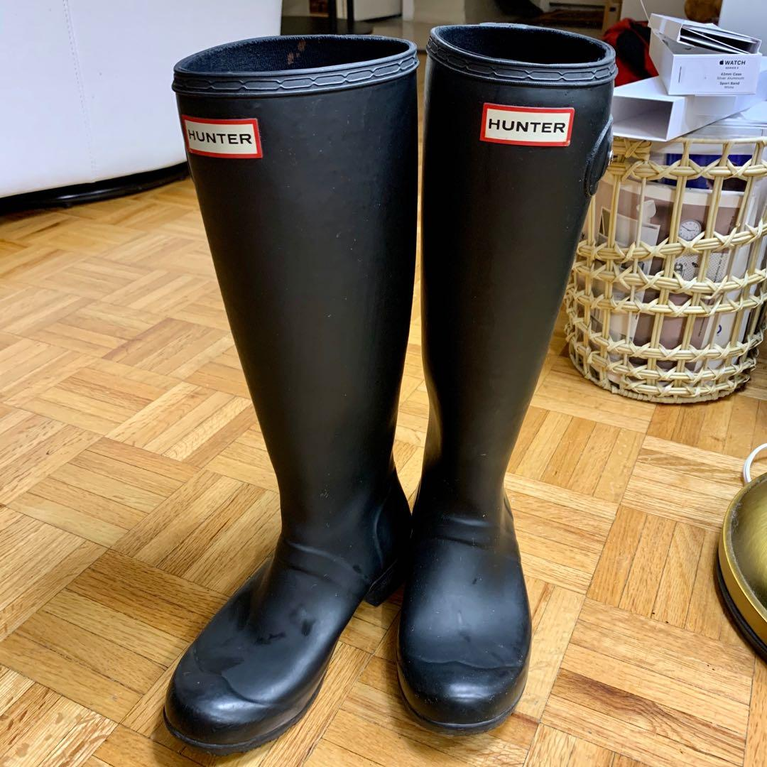 pre loved hunter boots