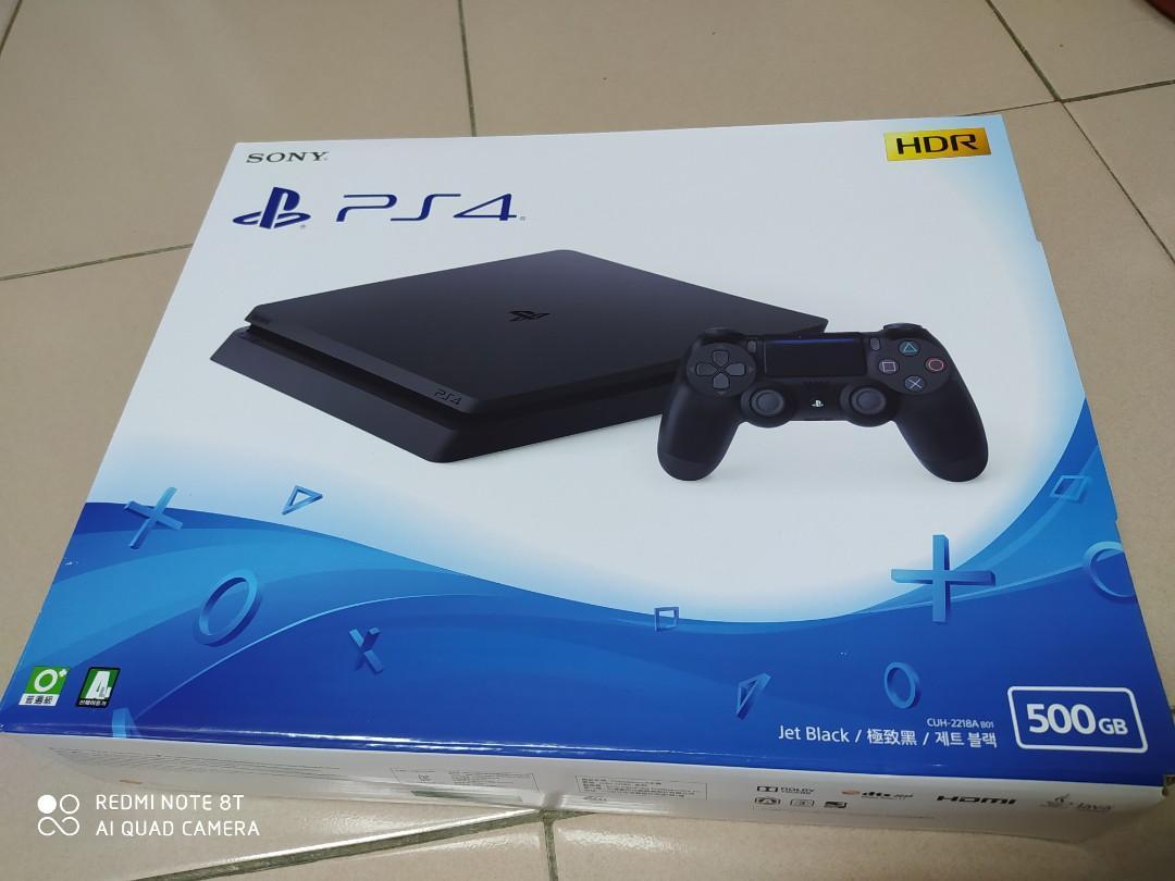 廉售PS4九成新遊戲主機