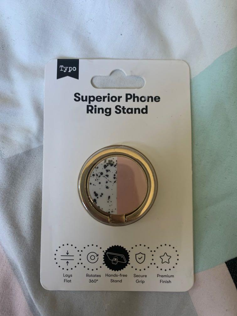 Typo Phone Stand
