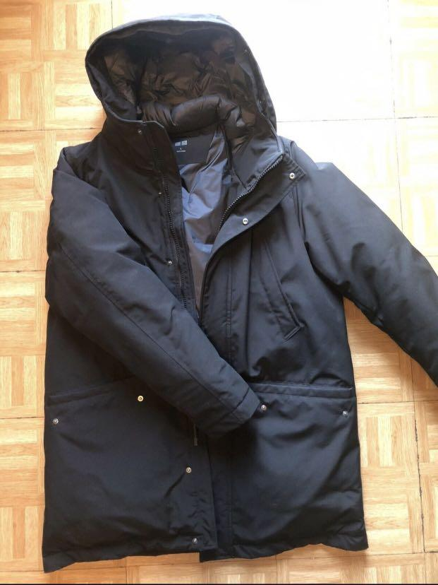 "Uniqlo ""ultra warm parka"" - size xl"