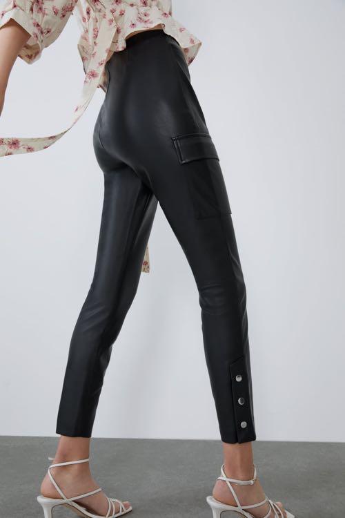 Zara Leather Legging