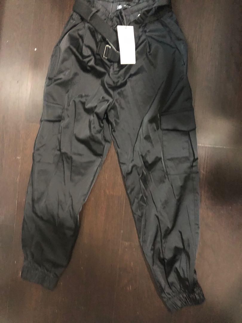 Zara silk pants size M