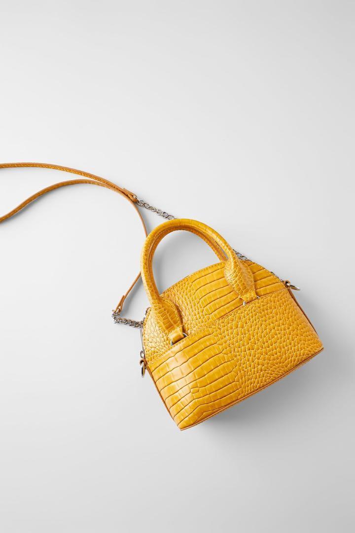Zara  Yellow Purse