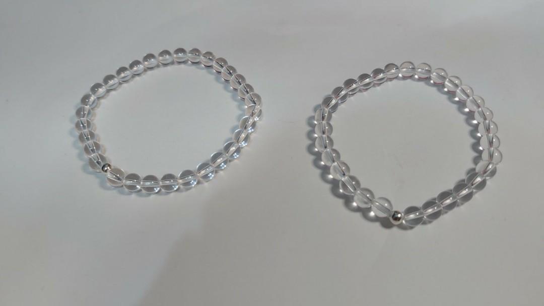 手串  白水晶  簡約  素款