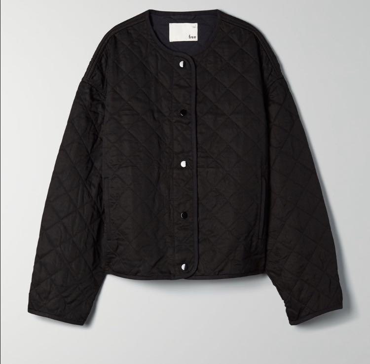 ARITZIA WILFRED FREE QUILTED BOMBER