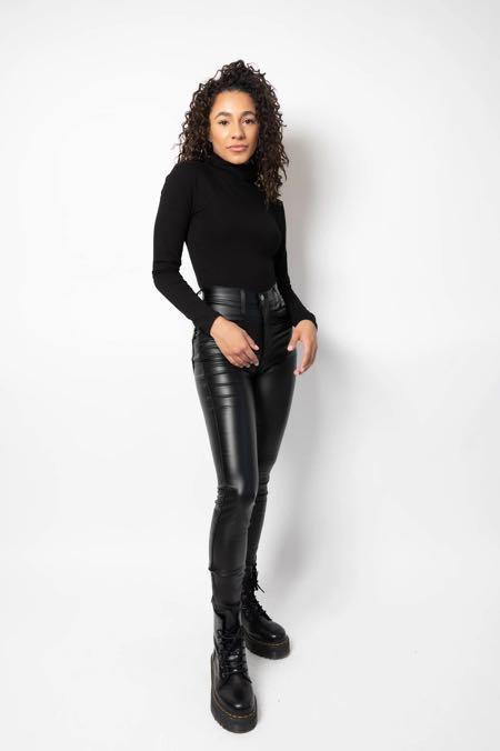 BNWT M Boutique leather pants