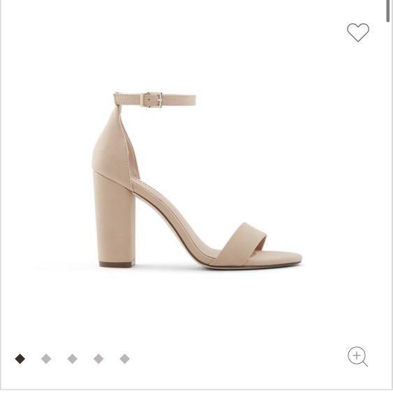 Call it spring beige heels