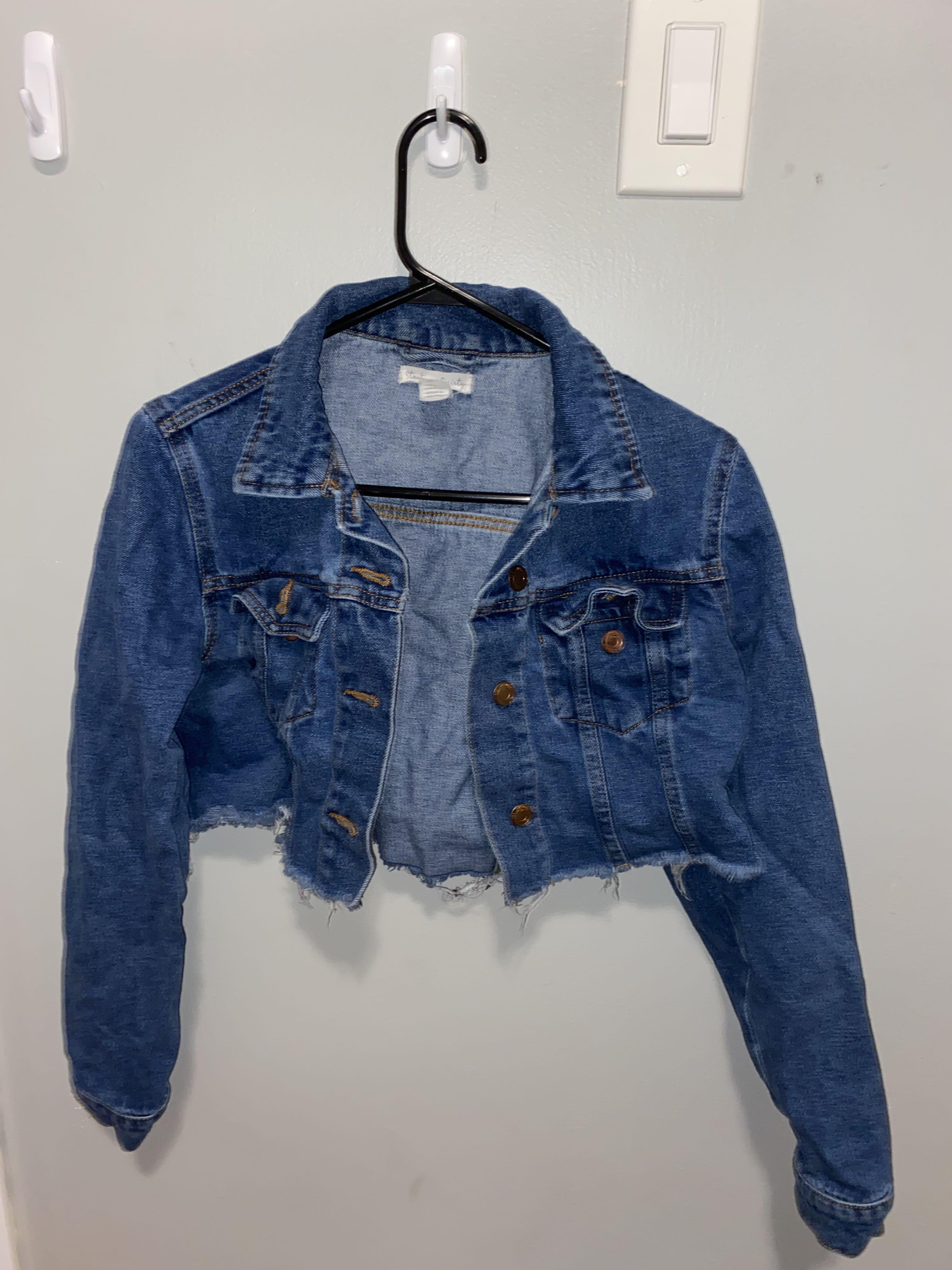 Cropped denim Jacket SIZE S / XS