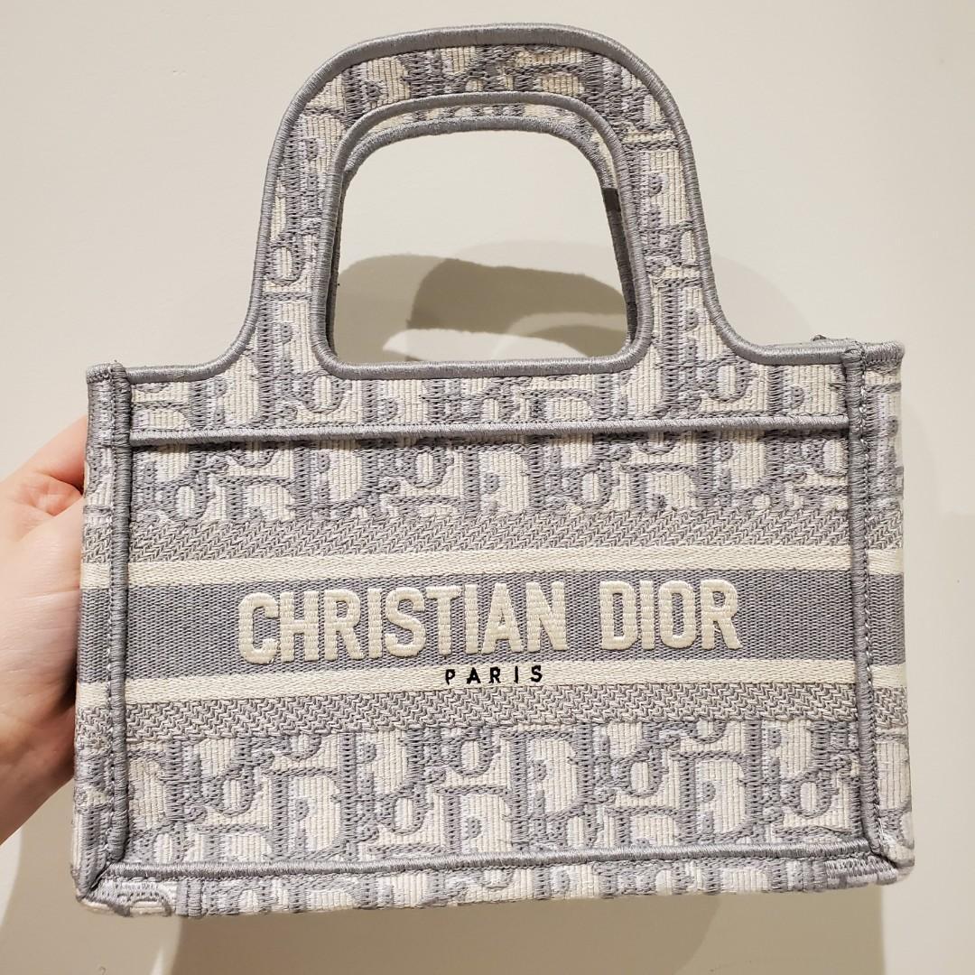 Dior mini book tote