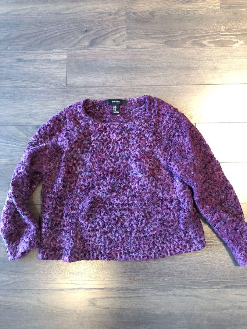Forever 21 Size Small Purple Pullover