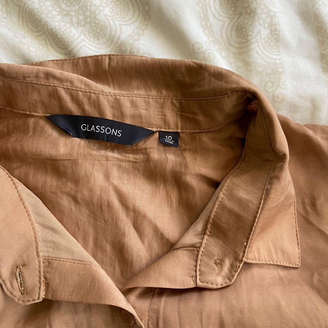 Glassons satin blouse