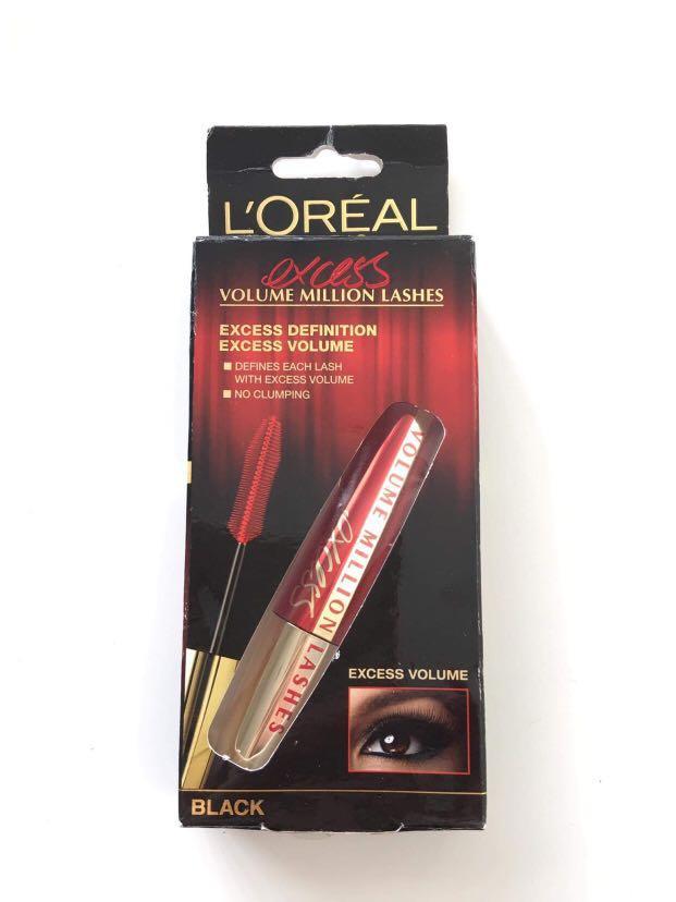 L'Oreal Paris Volume Million Lashes Excess Mascara Black 9ml