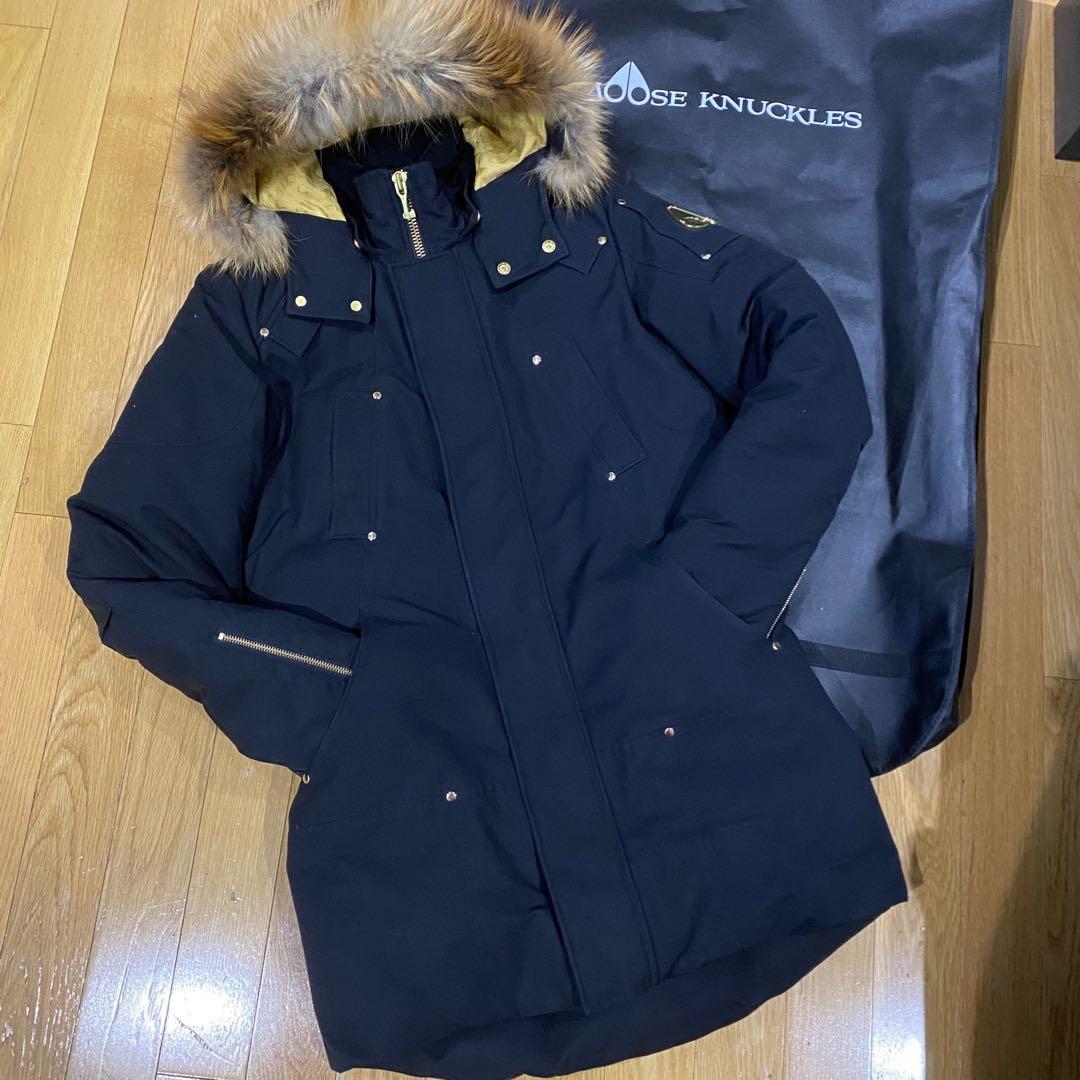 Moose knuckles stag coat