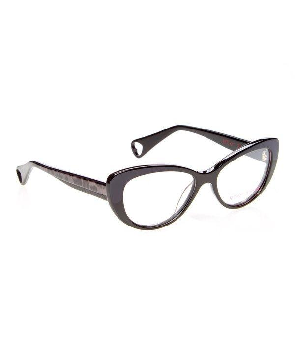 New Betsey Johnson Raven Hot to Trot eyeglasses