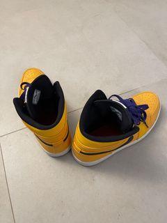 Nike Air Jordan Yellow US 11